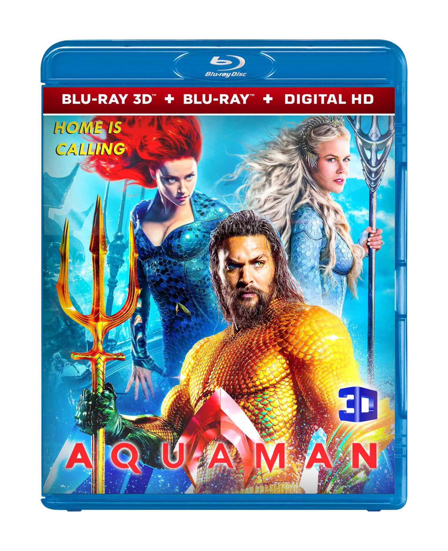 Aquaman(3D) 2019 bluray Summer sale Hot Deal Region free